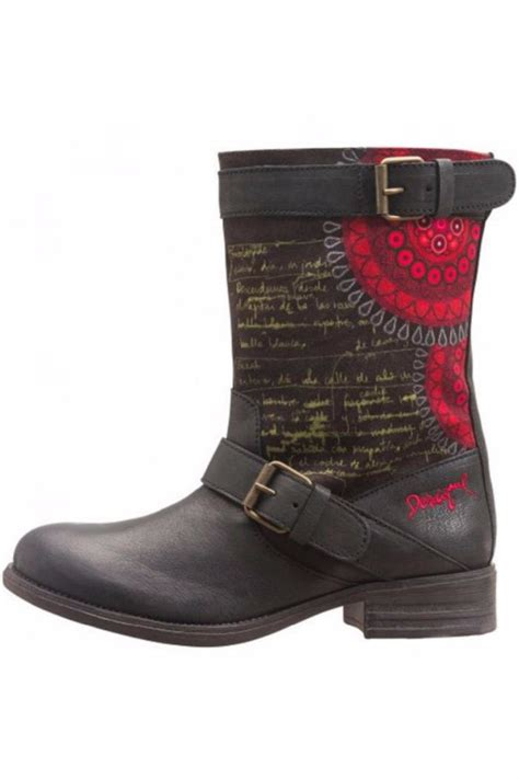 Desigual Home Decor by Desigual Black Rain Boot From St George By The Nook
