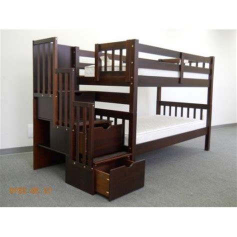 bunk bed king reviews bedz king twin over twin bunk bed walmart com