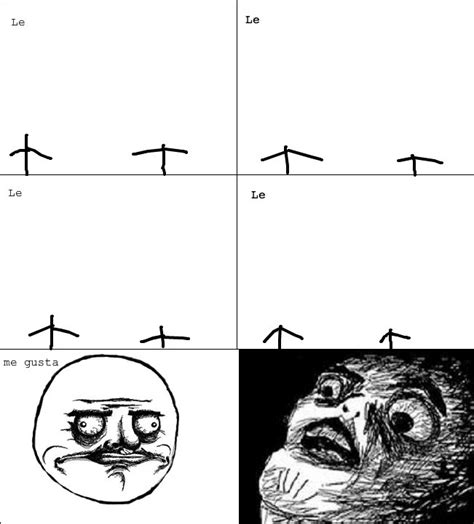 Meme Comic Template - average rage comic template