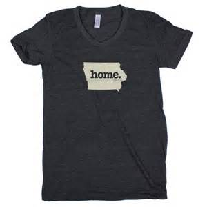 home tshirt iowa home t shirt womens cut