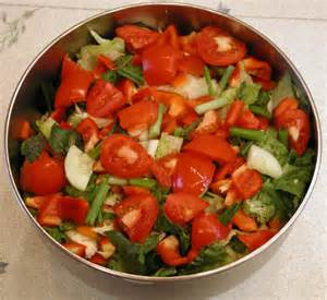 salad recipe the basic tossed salad an all creatures american
