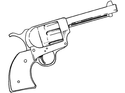 coloring pages guns zombies gun coloring pages