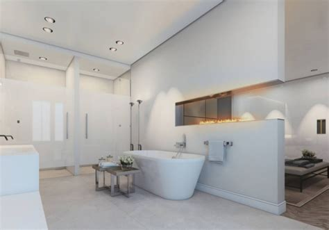 Badezimmer Mit Trennwand by 104 Moderne Badezimmer Bilder Die Sie Zum Tr 228 Umen Bringen