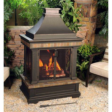 chiminea canadian tire image gallery outside portable fireplaces