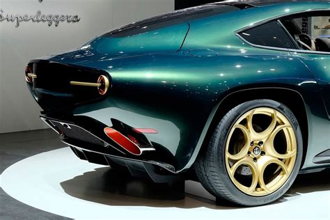 new alfa romeo disco volante color me green touring superleggera s alfa romeo disco