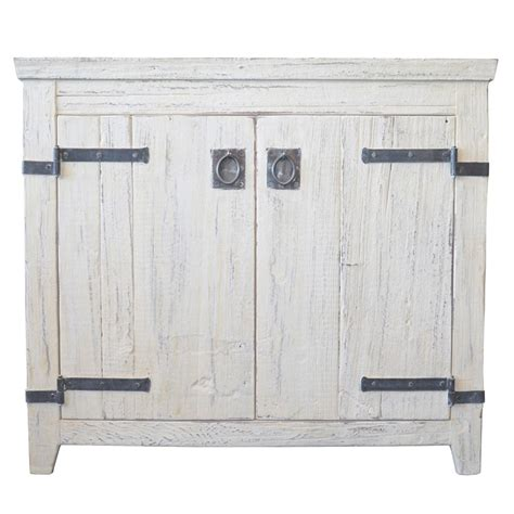 americana rustic bathroom vanity bases whitewash native