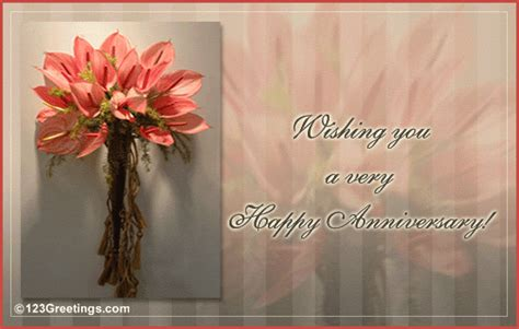 Wedding Anniversary Wishes 123 Greetings by A Happy Anniversary Free Flowers Ecards Greeting