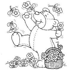 spring bear coloring pages rainbow in the garden coloring pages rainbow coloring