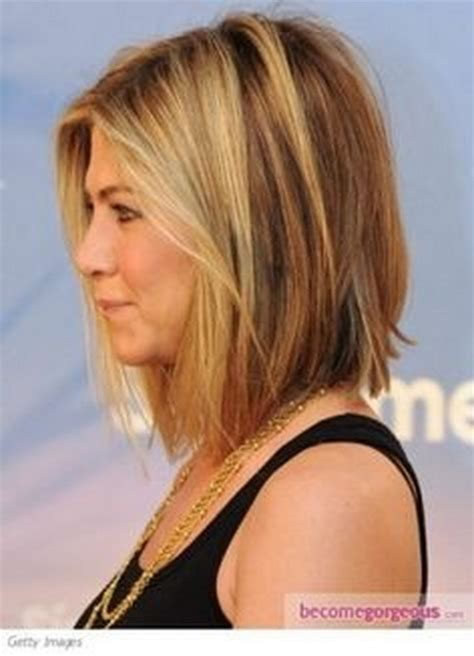 mid length hair cuts longer in front medium a line haircuts