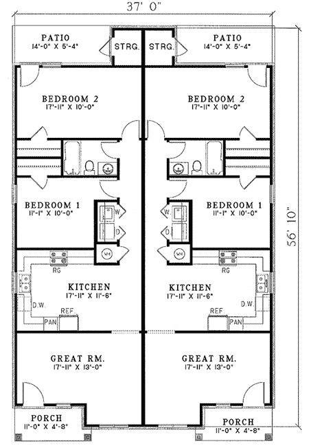 duplex plans narrow lot best 25 duplex plans ideas on pinterest duplex house