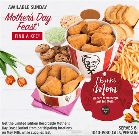 Kfc S Day Special Kfc Canada S Day Offers Recordable For