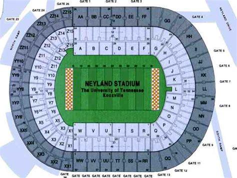 neyland stadium map neyland stadium seating chart similiar neyland stadium interactive seating chart view from xx5