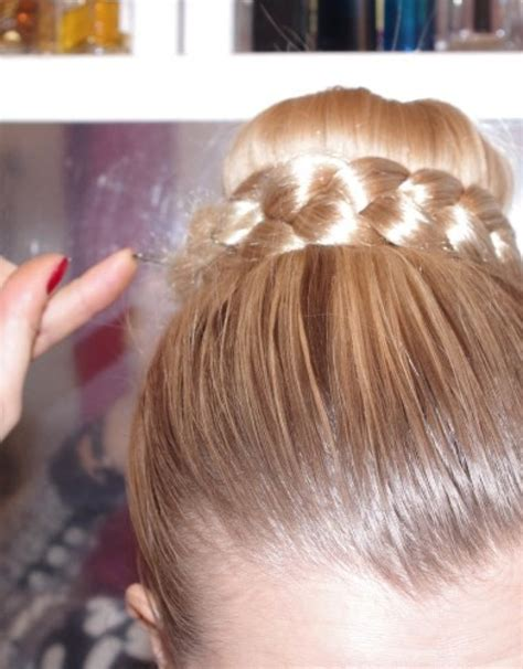 Step By Step Braided Hairstyles by How To Do A Sock Bun With Curly Hair Hairs Picture