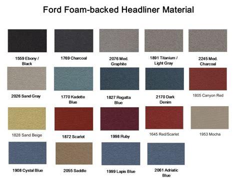 Upholstery Paint For Carpet Ford Ranger Headliners 1993 1995 Extended Cab