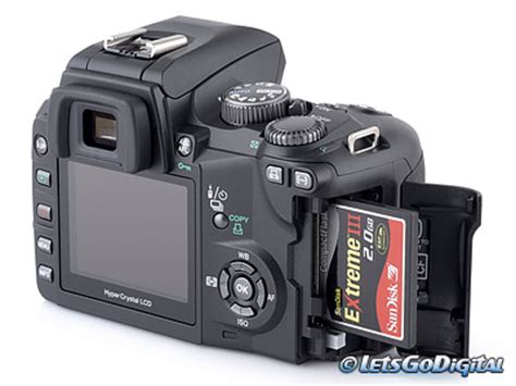 Kamera Olympus E500 Olympus E500 Digitalkamera Test Speicher Und Akkus