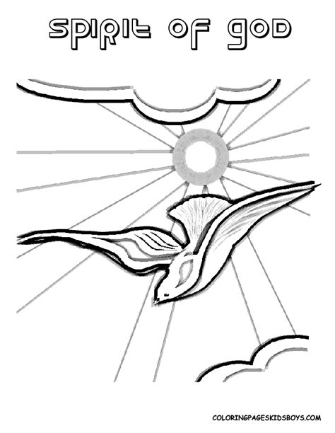 Holy Spirit Coloring Pages For Children by Holy Spirit Coloring Page Az Coloring Pages