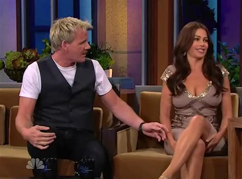 sofia vergara gordon ramsay gordon ramsay blasted for disrespecting sofia vergara on