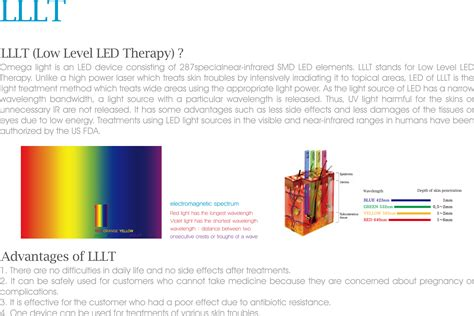 Pdt Omega Light Teraphy omega light pdt therapy led thearpy original omega