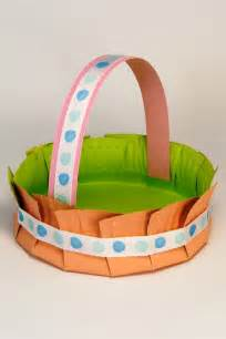 Easter Basket Craft by Be Different Act Normal Paper Plate Easter Baskets