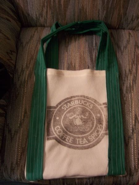Tote Bag Denim Starbucks starbucks bag 183 a tote bag 183 transfers and sewing on cut out keep