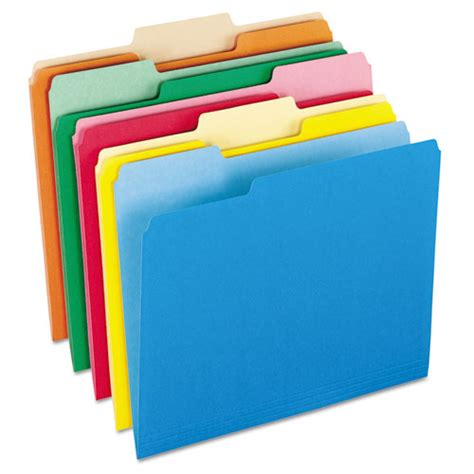 pfx15213asst pendaflex colored file folders zuma