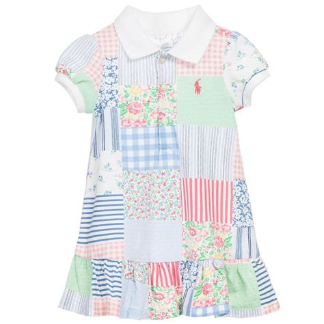 Patchwork Dress - ralph baby patchwork dress knickers