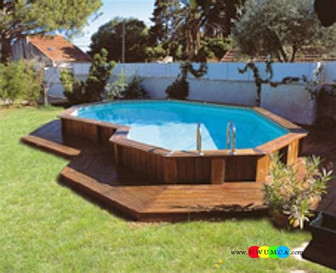 backyard swimming pools above ground swimming pool architecture captivating brown wooden above