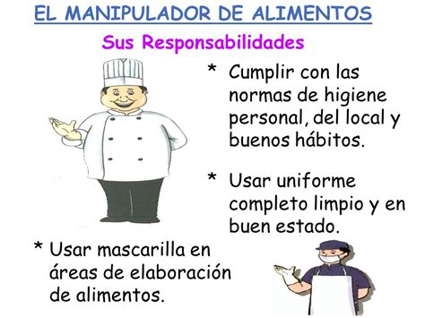 que es manipulador de alimentos el manipulador de alimentos ppt video online descargar