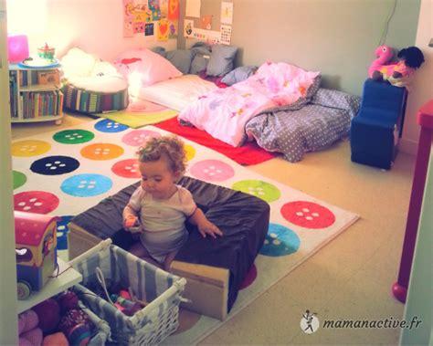 chambre bébé montessori inspiration chambre montessori