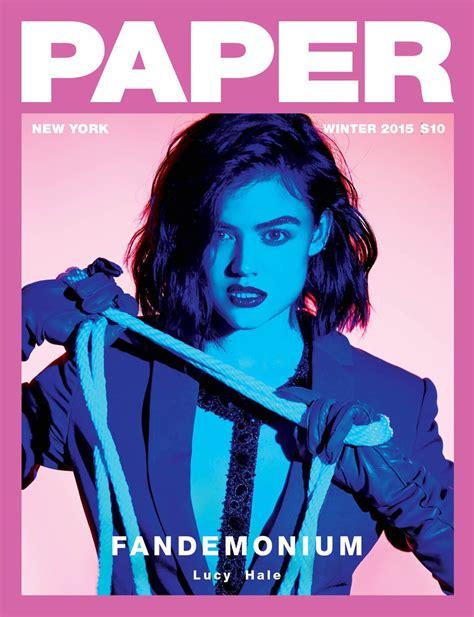 Paper From Magazines - paper magazine s fandemonium cover