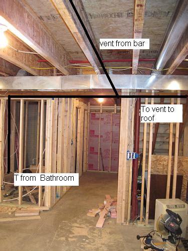 venting basement bathroom trendy idea venting basement
