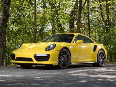 porsche 911 supercar porsche 911 turbo coupe yellow supercar 4k hd wallpaper