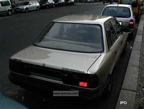 1989 Toyota Corolla 2 Door 1989 Toyota Corolla 4 Door Diesel Car Photo And Specs