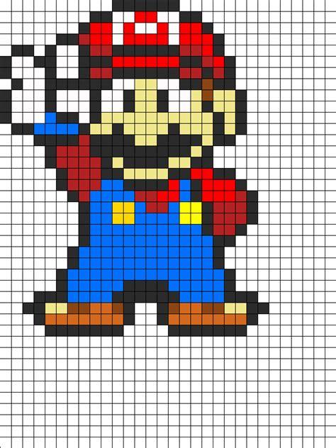 Mario Perler Bead Pattern Bead Sprites Characters Fuse