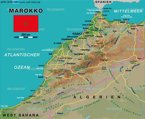karten de image gallery marokko landkarte