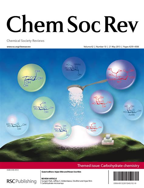 carbohydrates journal carbohydrate chemistry themed issue chemical society