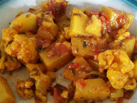 Manjula S Kitchen Aloo Gobi by Vegetarian Indian Food Recipes Vegan Rd Authentic Aloo Gobi