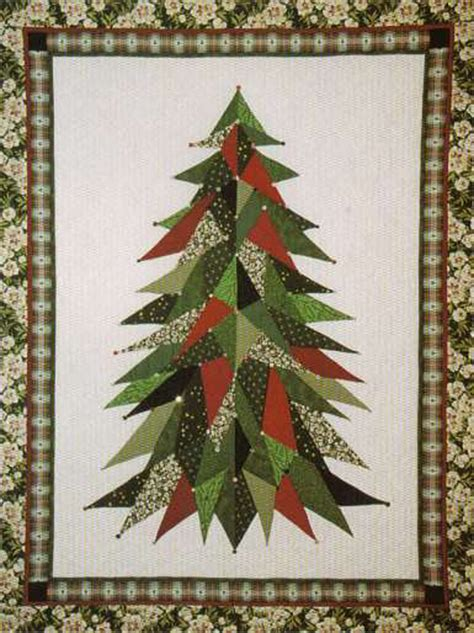 roseola christmas tree pattern sage country christmas tree quilt pattern lsc 0101
