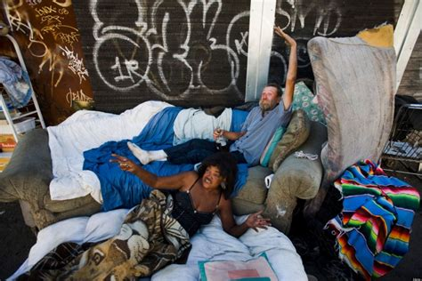 la times california section new york times report on homelessness in l a