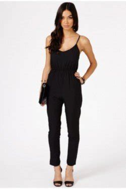Jumpsuit Minori missguided all black shop the trend