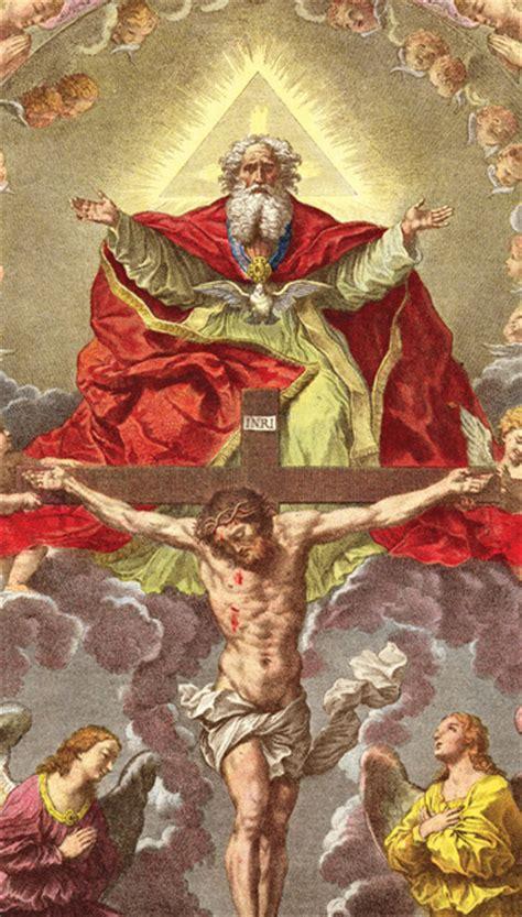 holy trinity crucifixion magnet