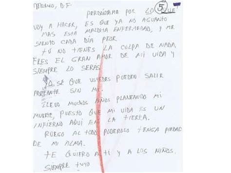 imagenes notas suicidas notas de suicidio real o falsa