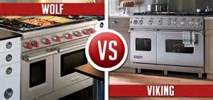 Best Gas Cooktops With Downdraft Viking Vs Wolf Range 48 Pro Style Gas Ranges Compared