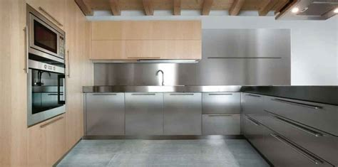15 contemporary kitchen designs with stainless steel 21 awesome stainless steel kitchen design ideas