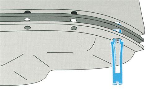 snap  oil pan gasket installation fel pro gaskets