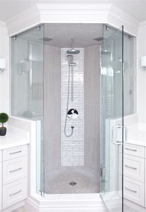 lovely marble corner shower shelf with ipad floor