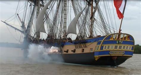 bateau l hermione à bordeaux l hermione escort 233 e par l arawak jusqu 224 bdx infobassin