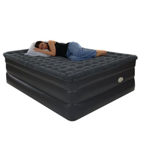 raised pillowtop air bed with airtek comfort bd 912 afs rollaway beds shipped within