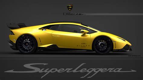 2014 Lamborghini Huracan Render 2014 Lamborghini Huracan Lp 640 4 Superleggera By