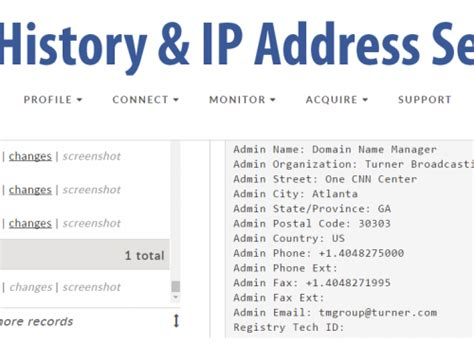 Ip Address Search History Search Tips Osint By Bob Brasich